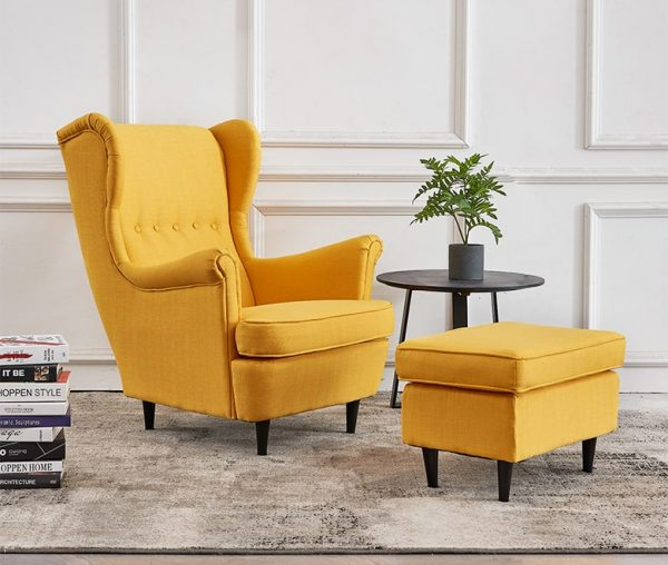 Medellin High Back Armchair Wingback Chair Singapore