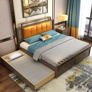 Beringen Pull Out Bed Frame Singapore Trundle Bed SingaporeHomeFurniture