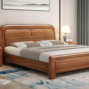 Brussels Teak Wood Bed Frames Wooden Bed Frames Wood Bed Frames SingaporeHomeFurniture