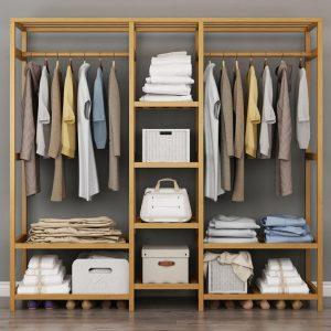 Delicias Portable Wardrobe Rack Singapore SingaporeHomeFurniture