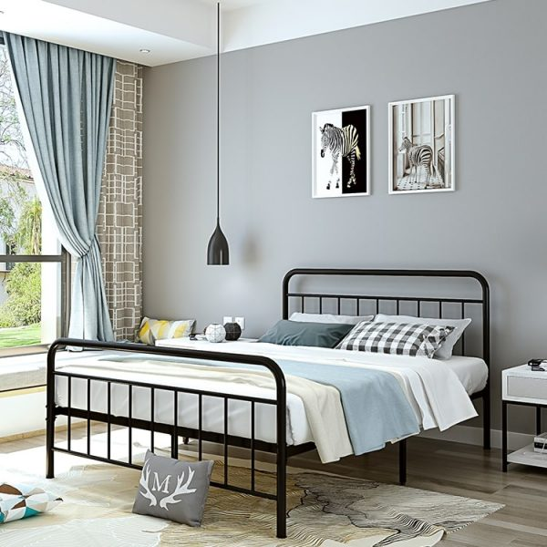 Ghent Wrought Iron Bed Frame Singapore SingaporeHomeFurniture