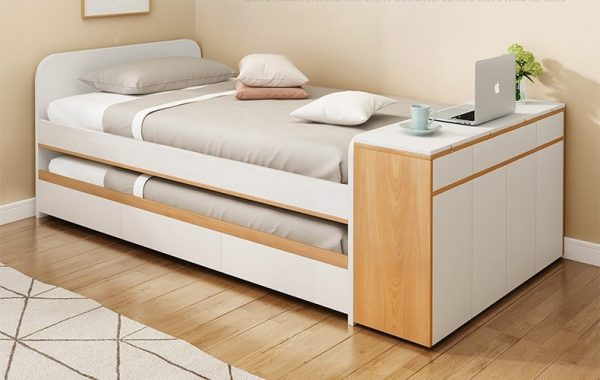 Ninove Pull Out Bed Frame Singapore Trundle Bed SingaporeHomeFurniture