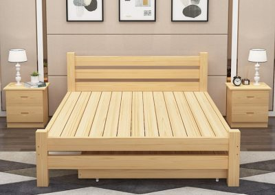Ostend Pull Out Bed Frame Singapore Trundle Bed SingaporeHomeFurniture