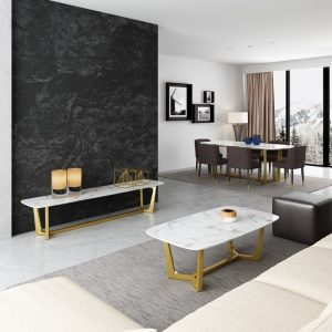 Roosendaal Marble Top Coffee Table Singapore SingaporeHomeFurniture