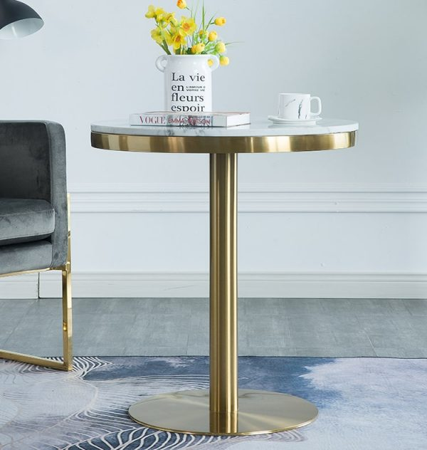 Zwolle Marble Top Coffee Table Singapore SingaporeHomeFurniture