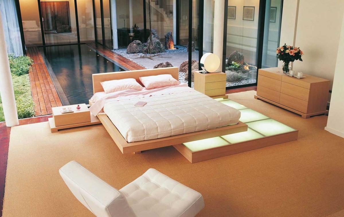 Japanese Bed Frame Singapore Low Platform Bed Tatami Bed