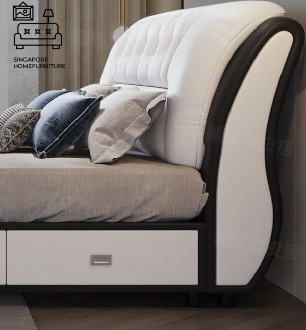 Tienen Divan Bed Frame Singapore Bed with storage space SingaporeHomeFurniture