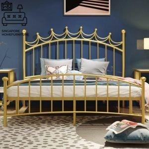 Arlon Wrought Iron Bed Frame Singapore SingaporeHomeFurniture