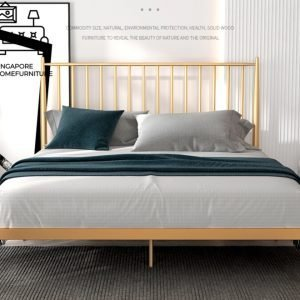 Binche Wrought Iron Bed Frame Singapore SingaporeHomeFurniture