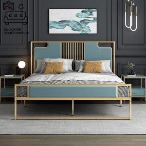 Roselare Wrought Iron Bed Frame Singapore SingaporeHomeFurniture