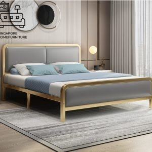Verviers Wrought Iron Bed Frame Singapore SingaporeHomeFurniture