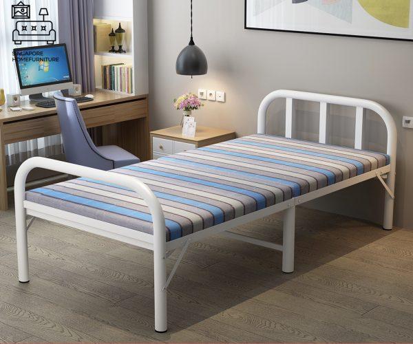 Aalst Foldable Bed Frame Singapore SingaporeHomeFurniture