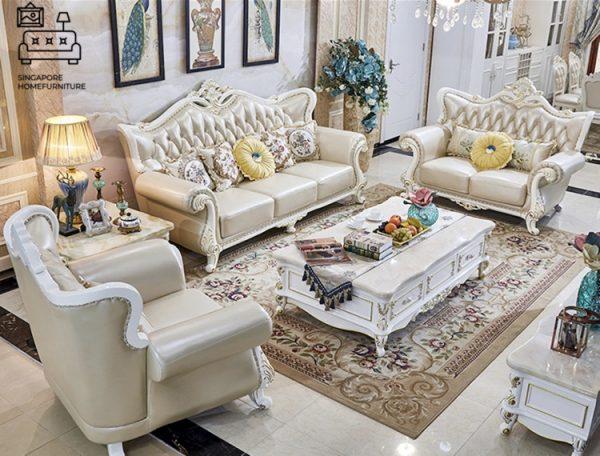 Malaga High Back Sofa Singapore SingaporeHomeFurniture