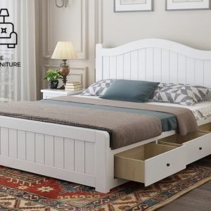 Uccle Pull Out Bed Frame Singapore Trundle Bed SingaporeHomeFurniture