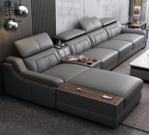 Burgos Leather Sofa Singapore SingaporeHomeFurniture