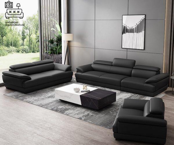 Lugo Leather Sofa Singapore SingaporeHomeFurniture