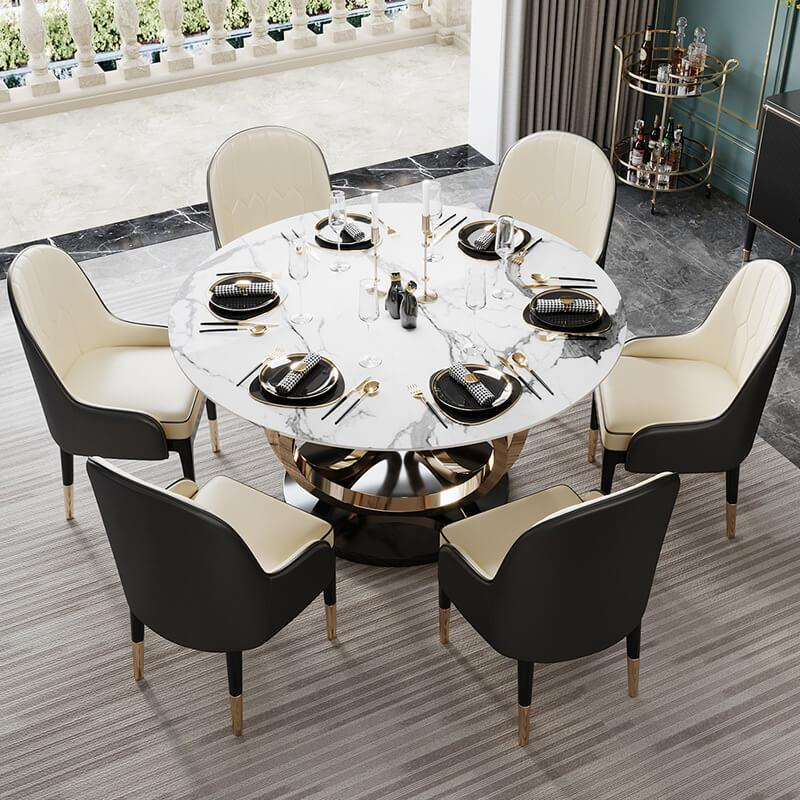 Marble Dining Table Singapore SingaporeHomeFurniture