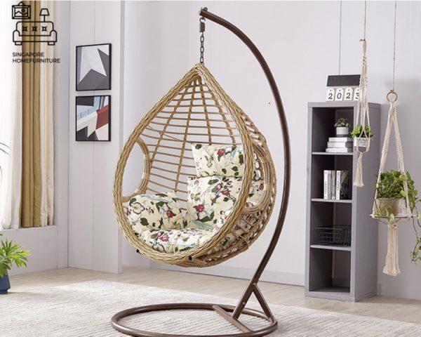 Mossoro Rattan Swing Chair Singapore SingaporeHomeFurniture