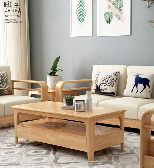 Ourense Wooden Sofa Singapore SingaporeHomeFurniture