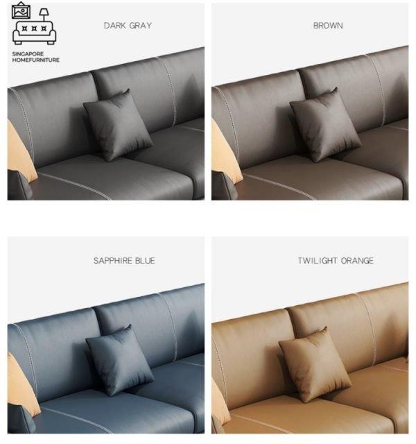 Seville Leather Sofa Singapore SingaporeHomeFurniture