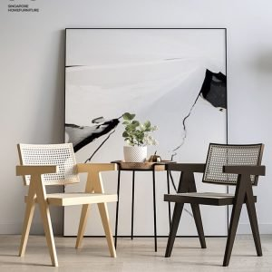 Brest Wooden Dining Chair Singapore SingaporeHomeFurniture