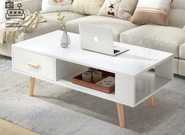 Emmen Wooden Coffee Table Singapore SingaporeHomeFurniture
