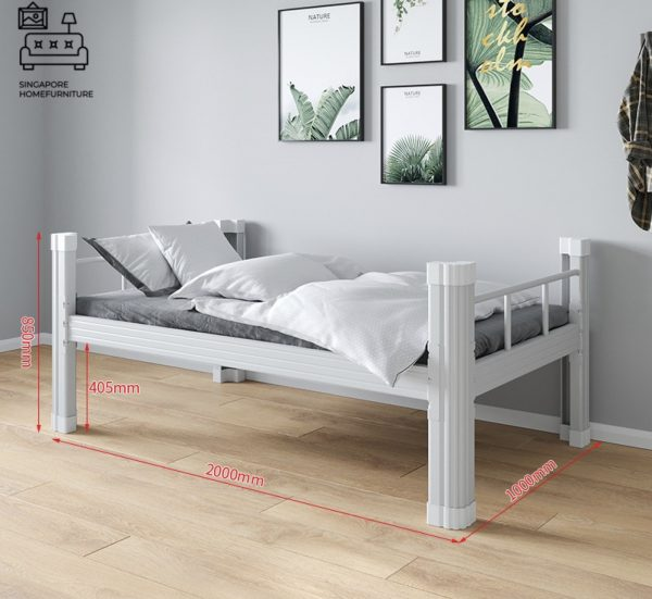 Eupen Double Decker Bed Frame Singapore Bunk Bed Singapore SingaporeHomeFurniture