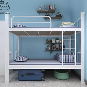 Gistel Double Decker Bed Frame Singapore Bunk Bed Singapore SingaporeHomeFurniture