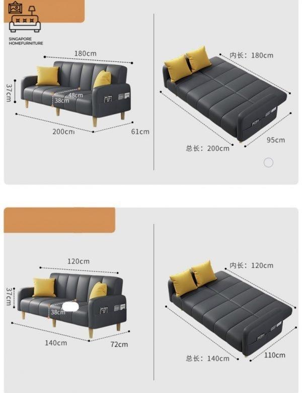 Manresa Fabric Sofa Singapore SingaporeHomeFurniture