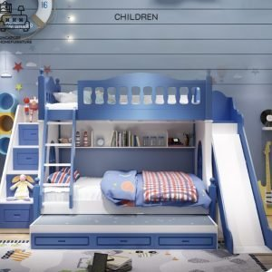 Rochefort Double Decker Bed Frame Singapore Bunk Bed Singapore SingaporeHomeFurniture