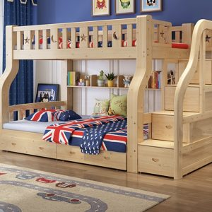 Stavelot Double Decker Bed Frame Singapore Bunk Bed Singapore SingaporeHomeFurniture
