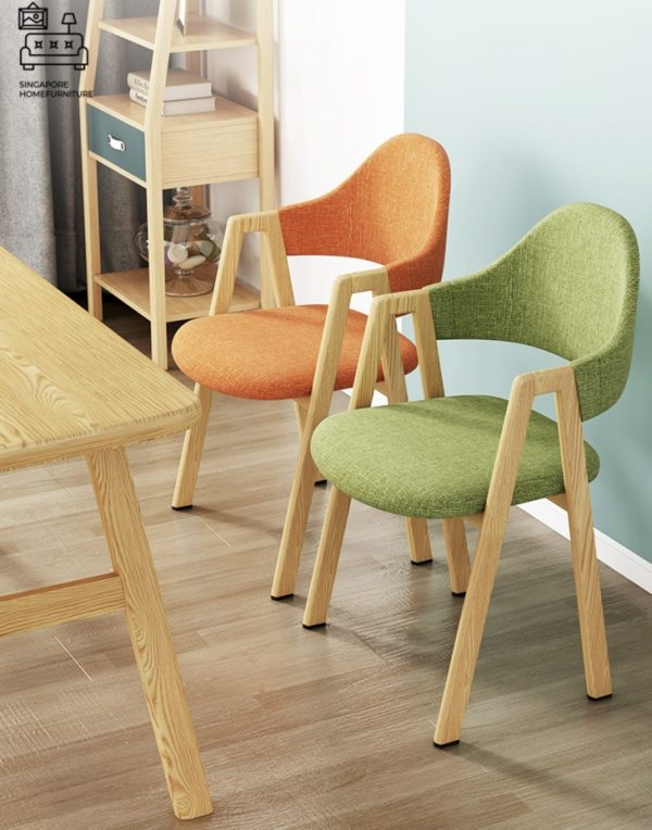 Troyes Wooden Dining Chair Singapore SingaporeHomeFurniture