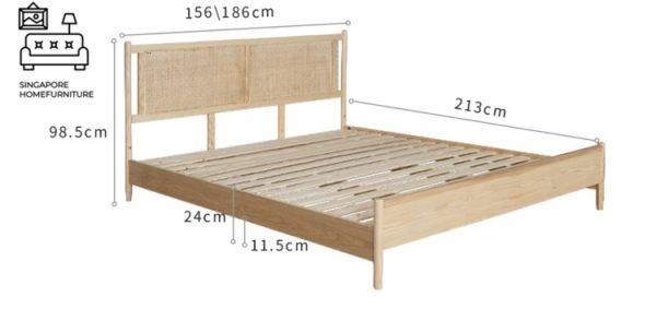 Ath Rattan Bed Frame Singapore SingaporeHomeFurniture
