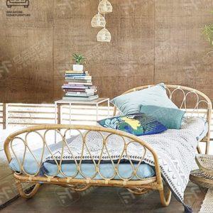 Bilzen Rattan Bed Frame Singapore SingaporeHomeFurniture