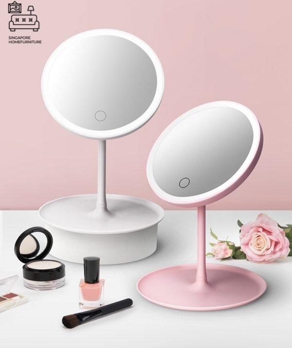 Brevik Vanity Mirror With Lights Singapore SingaporeHomeFurniture