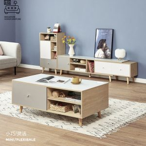 Echt Coffee Table with Storage Singapore SingaporeHomeFurniture