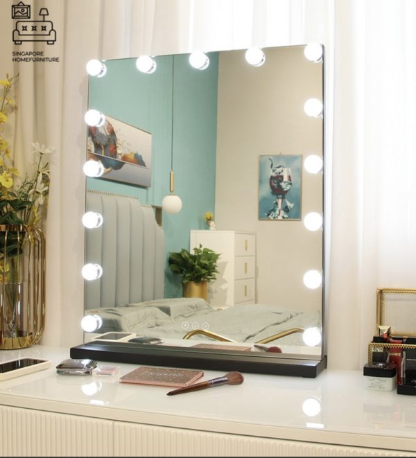 Elverum Vanity Mirror With Lights Singapore SingaporeHomeFurniture