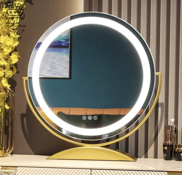 Fauske Vanity Mirror With Lights Singapore SingaporeHomeFurniture