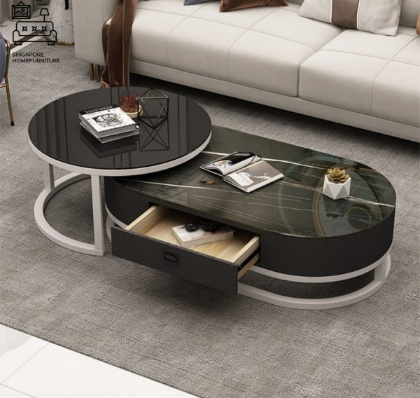 Huissen Coffee Table with Storage Singapore SingaporeHomeFurniture
