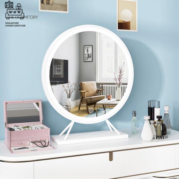 Skien Vanity Mirror With Lights Singapore SingaporeHomeFurniture