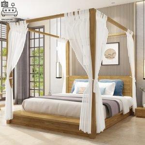 Walcourt Canopy Bed Frame Singapore SingaporeHomeFurniture