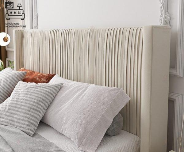 Chimay Velvet Bed Frame Singapore SingaporeHomeFurniture