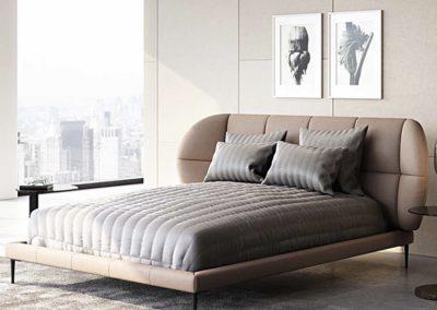 Leuze Velvet Bed Frame Singapore SingaporeHomeFurniture