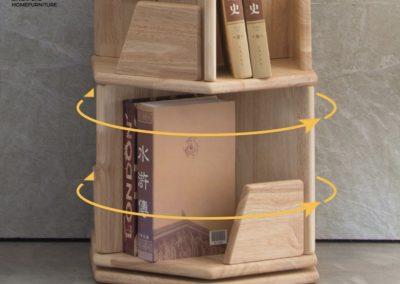 Lugoj Rotating Bookshelf Singapore Revolving Bookshelf Singapore SingaporeHomeFurniture