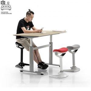 Solita Saddle Chair Singapore Ergonomic Chair Singapore SingaporeHomeFurniture