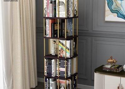 Tecuci Rotating Bookshelf Singapore Revolving Bookshelf Singapore SingaporeHomeFurniture