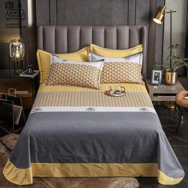Lendava Egyptian Cotton Bedsheet Singapore SingaporeHomeFurniture